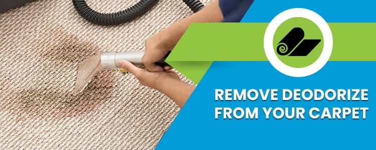Remove Deodorize From Your Carpet